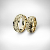 Vestuviniai žiedai - geltonas auksas 585