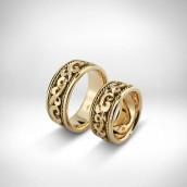 Vestuviniai žiedai - auksas 750