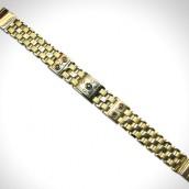 Apyrankė - auksas 585, safyras, rubinai, briliantai