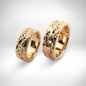 Vestuviniai žiedai Nr. 34 - auksas 585