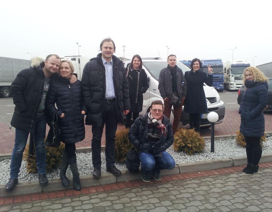 Trumpas sustojimas Lenkijoje