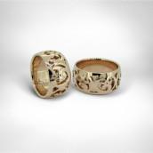 Vestuviniai žiedai • Auksas 585