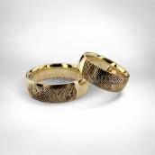 Vestuviniai žiedai • Auksas 750